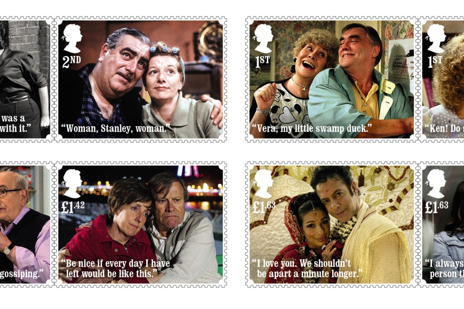 Coronation Street stamps unveiled to mark soap\'s 60th anniversary