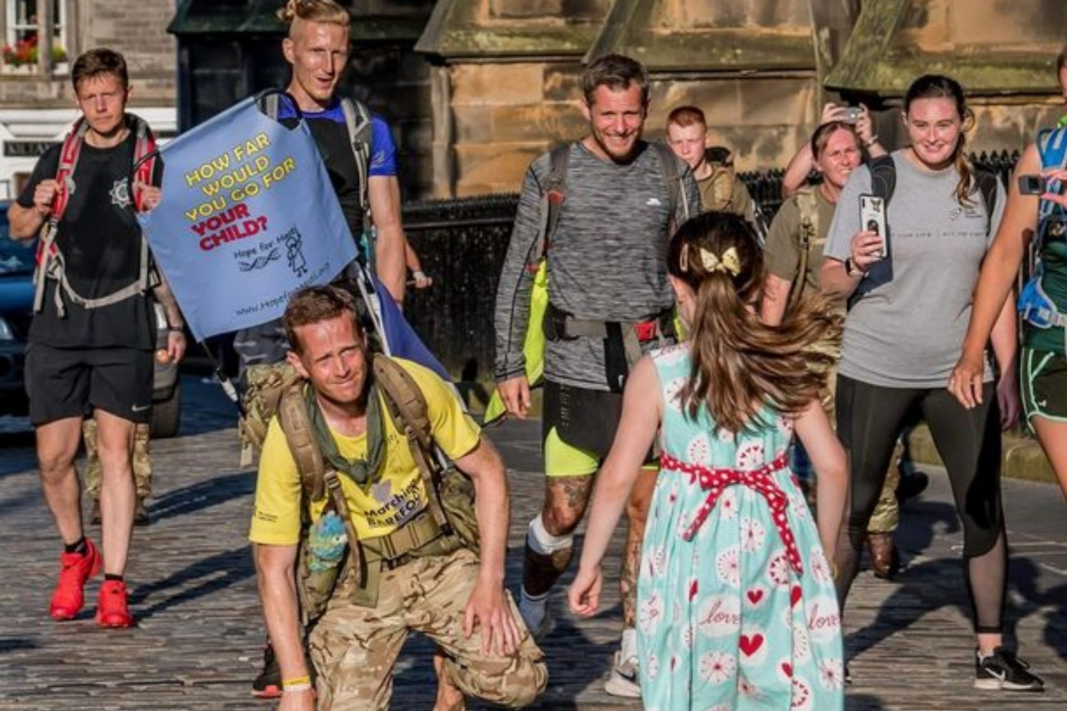 Army major to trek 1,200 miles barefoot to fund gene therapy for daughter