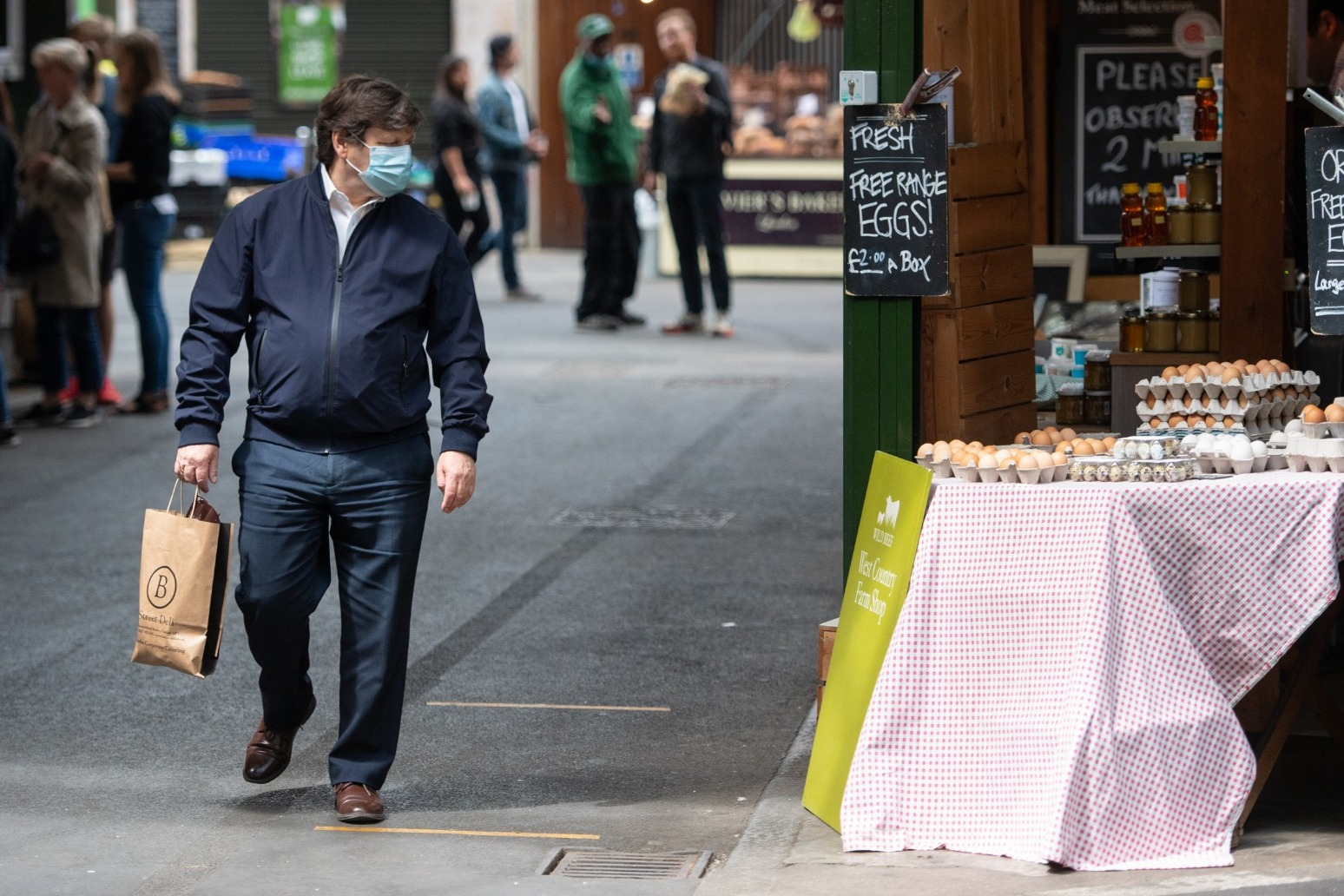 BMA calls for wider wearing of face coverings