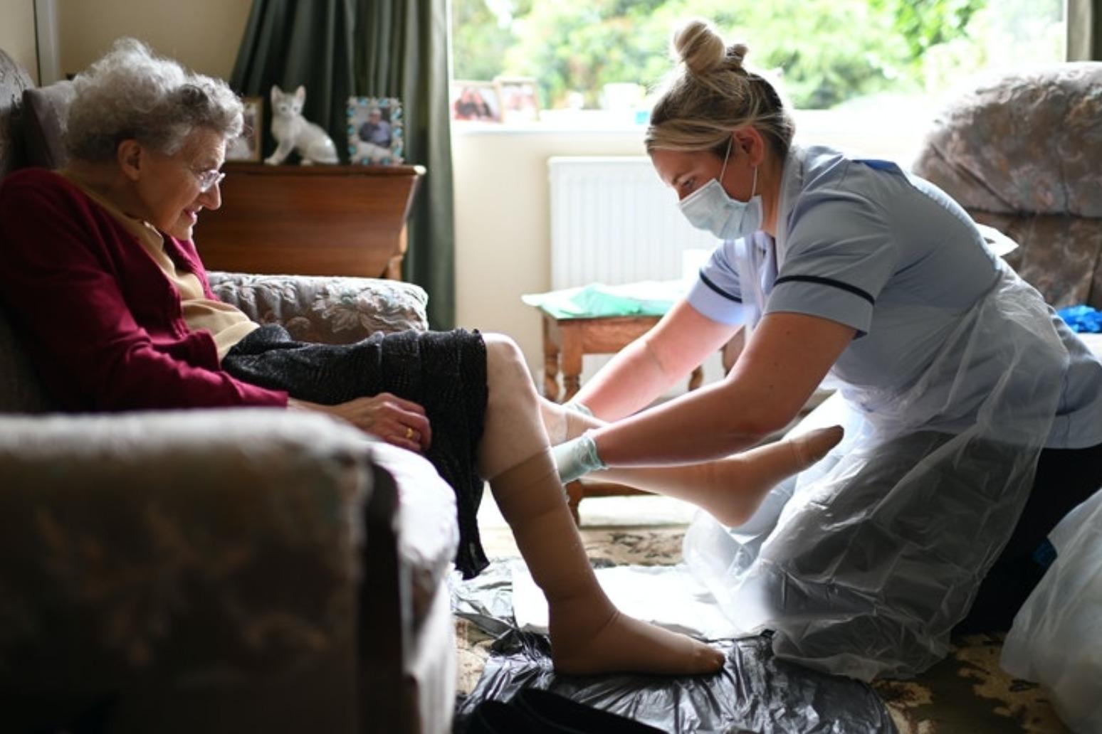 Care home testing target missed despite recent surge, figures suggest