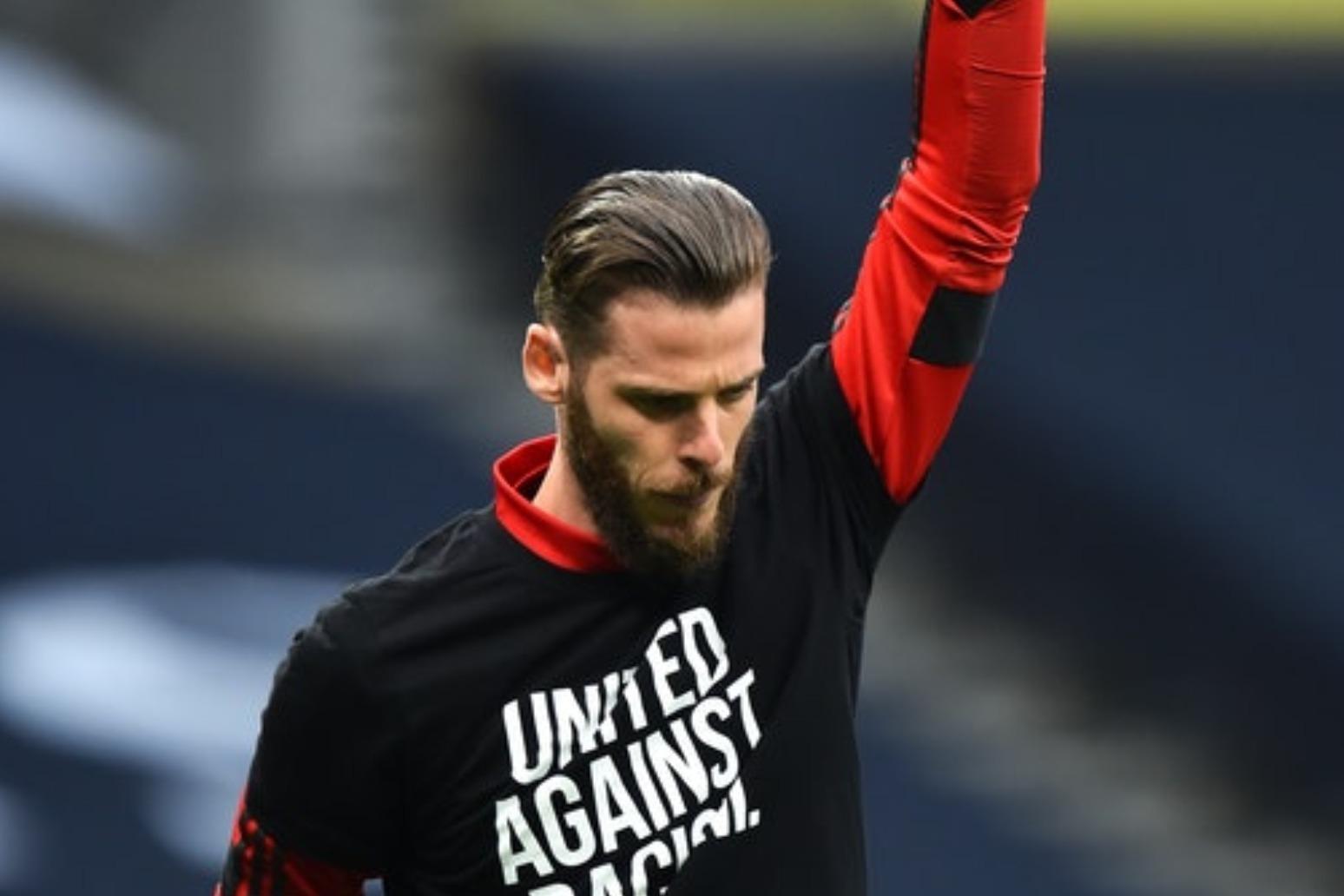 Solskjaer defends under-fire goalkeeper De Gea over Bergwijn goal