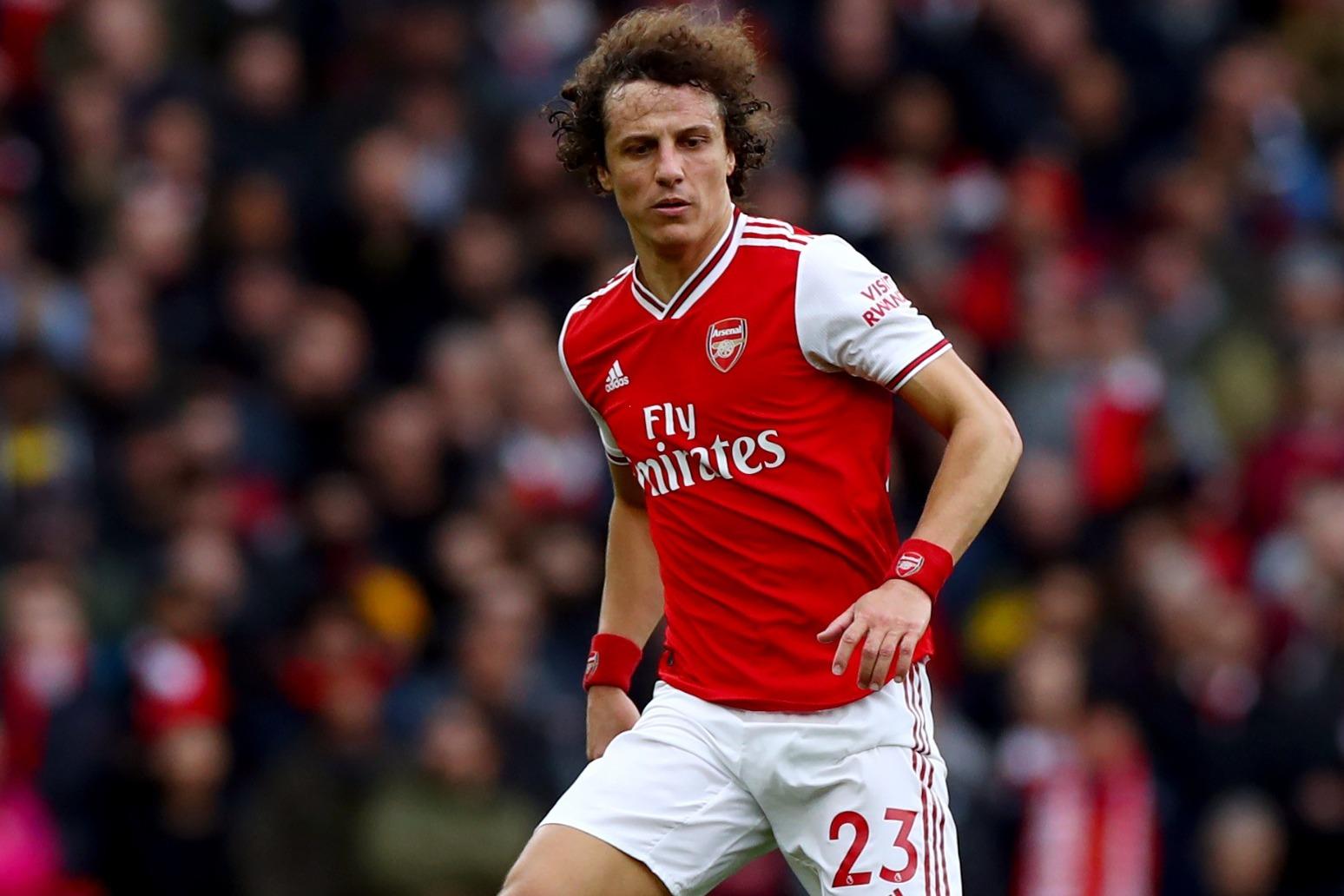 David Luiz agrees new one-year Arsenal deal despite poor display at Man City