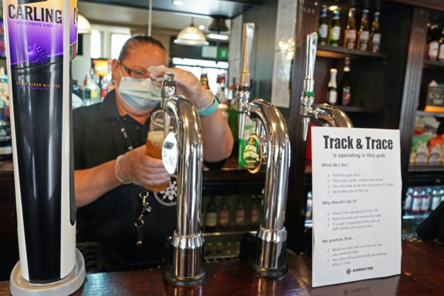 Bars shut due to coronavirus cases just days after reopening