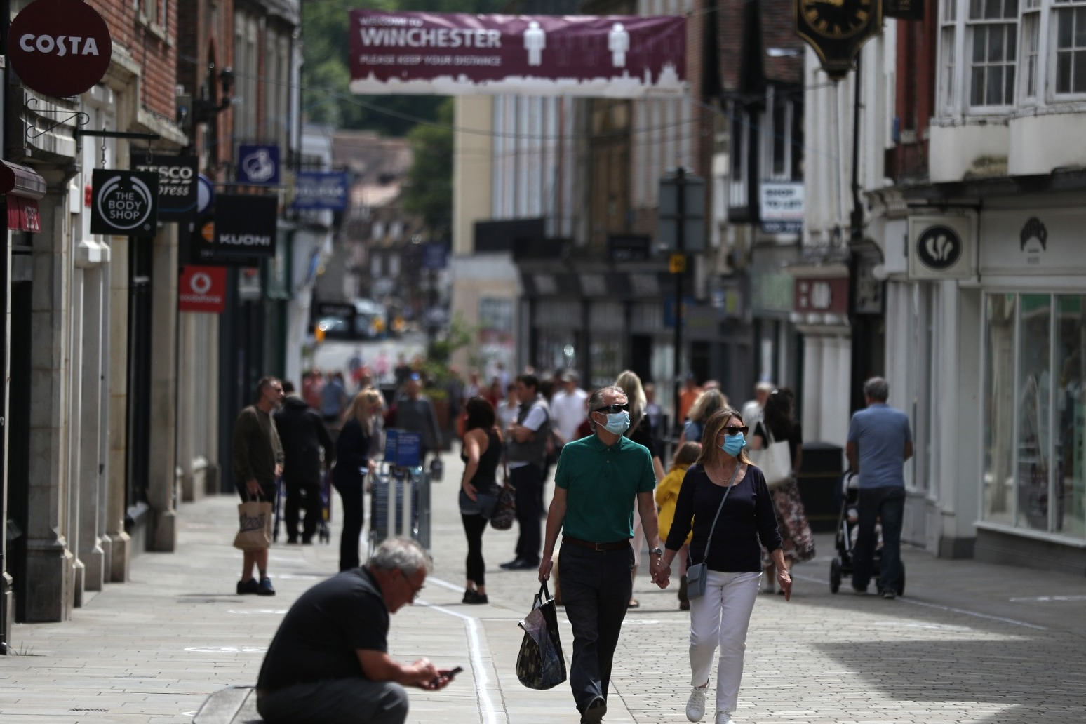 Retail footfall still lower in June despite reopening 'turning point'