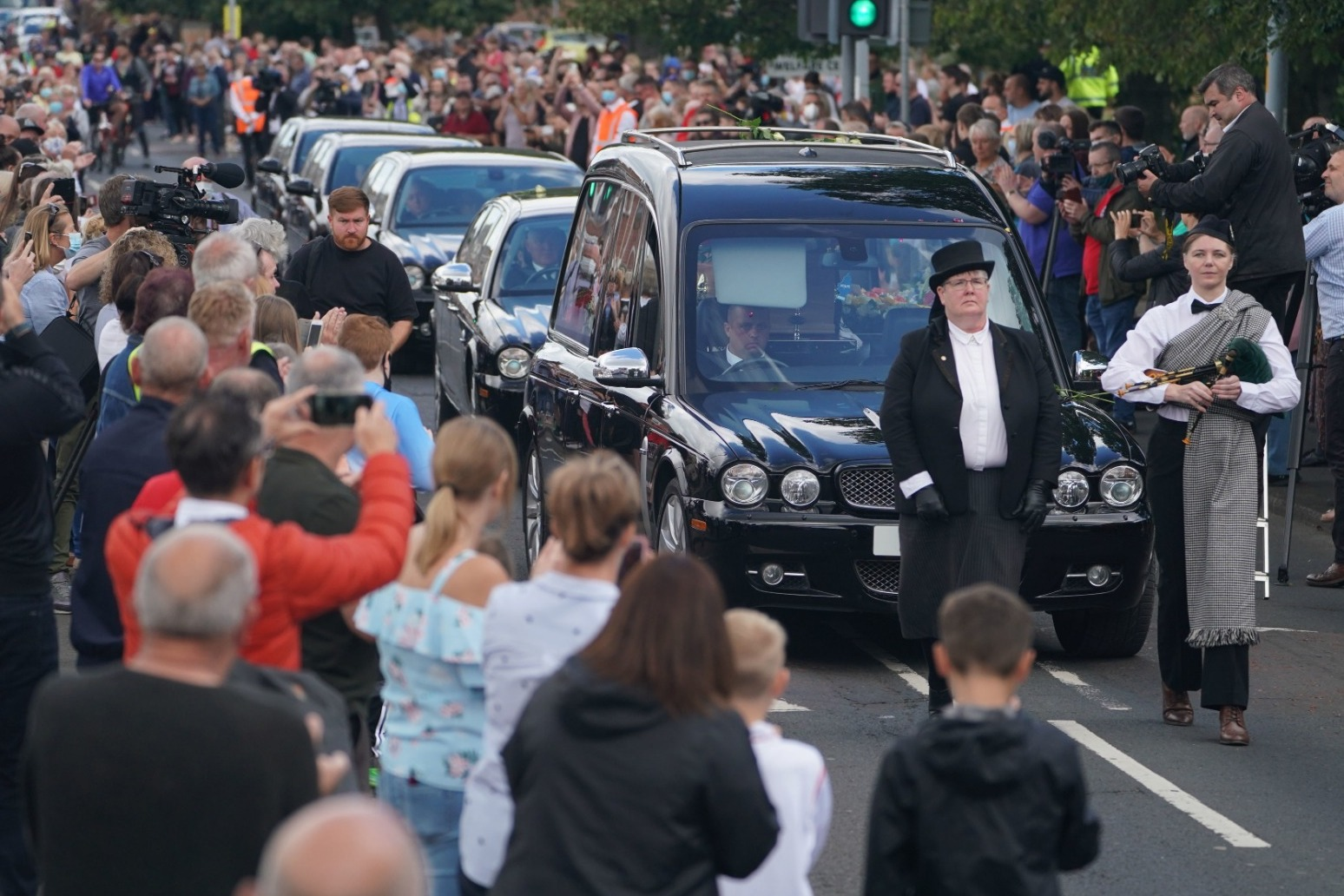 Funeral service held for Jack Charlton