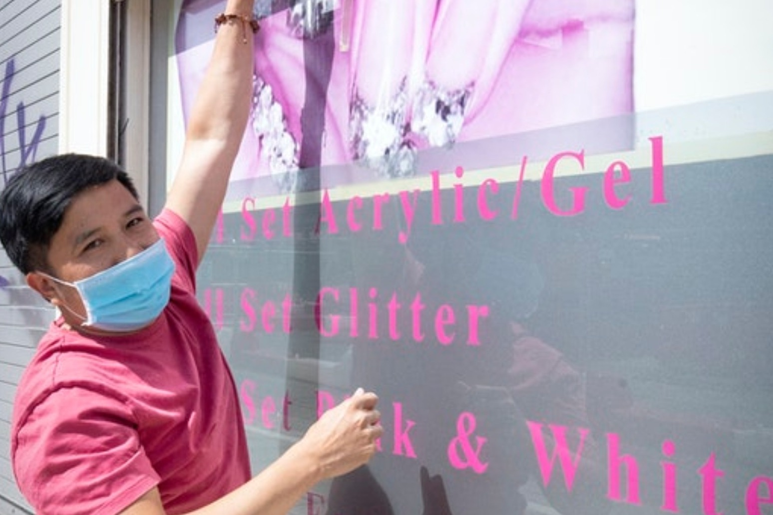 Beauticians back in business as more lockdown restrictions lifted
