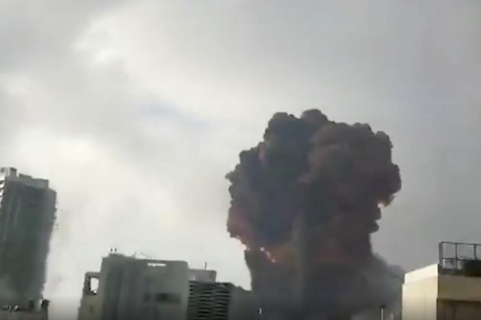 Dozens dead in Beirut explosion