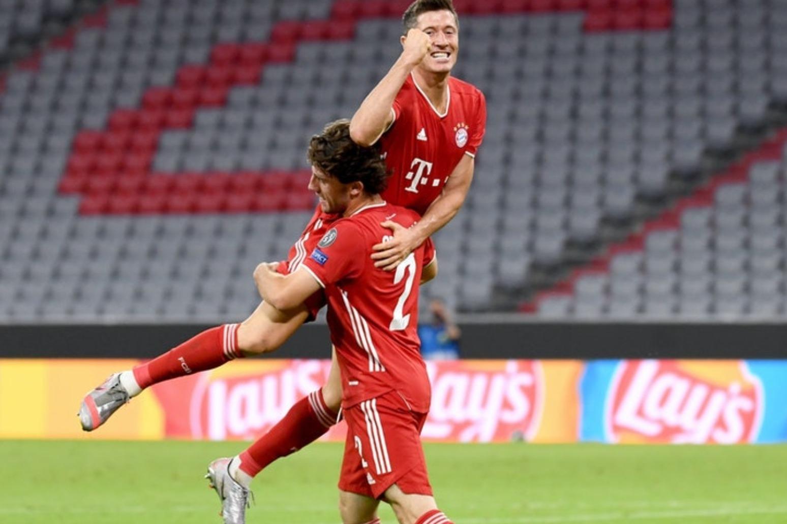 Bayern Munich win Champions League as Kingsley Coman header sinks PSG