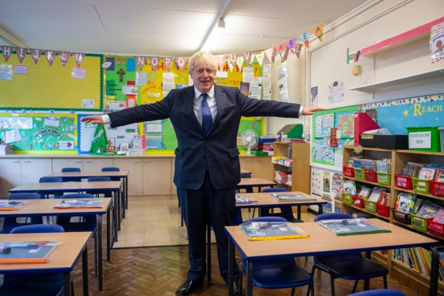 Johnson urges parents to send children back to school despite coronavirus