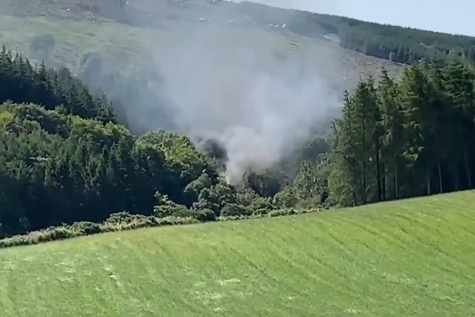 Passenger train derails in Scotland
