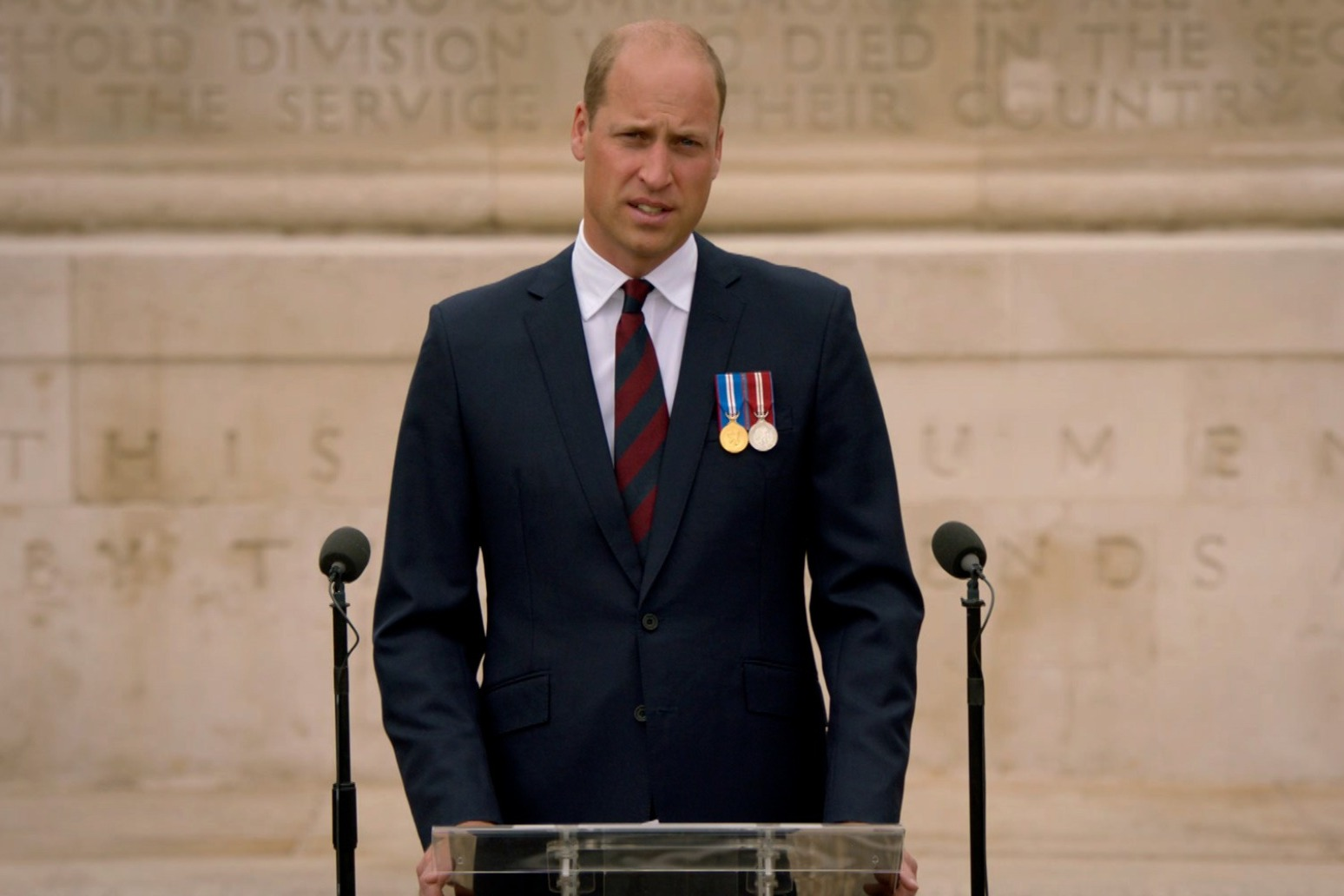 William pays tribute to VJ Day heroes