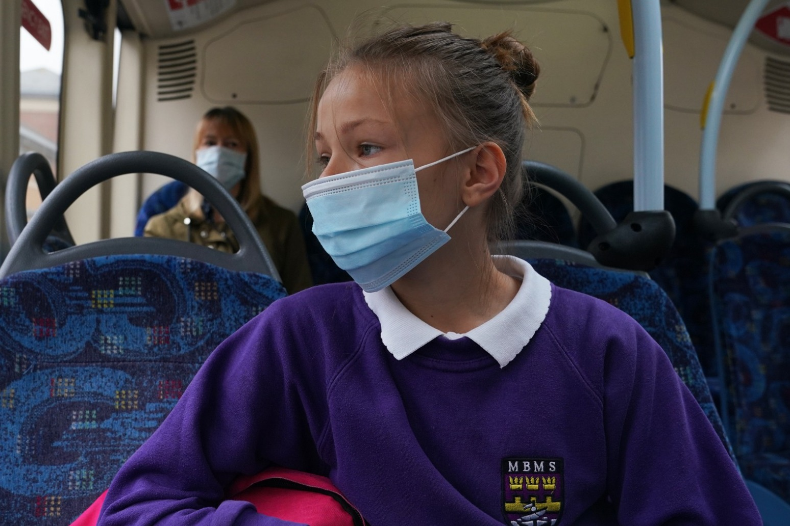 What are the rules on face coverings in UK schools?