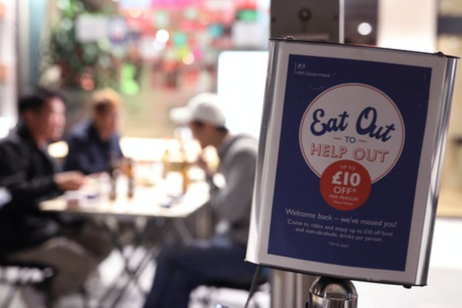 End of Eat Out to Help Out scheme pushes UK inflation higher