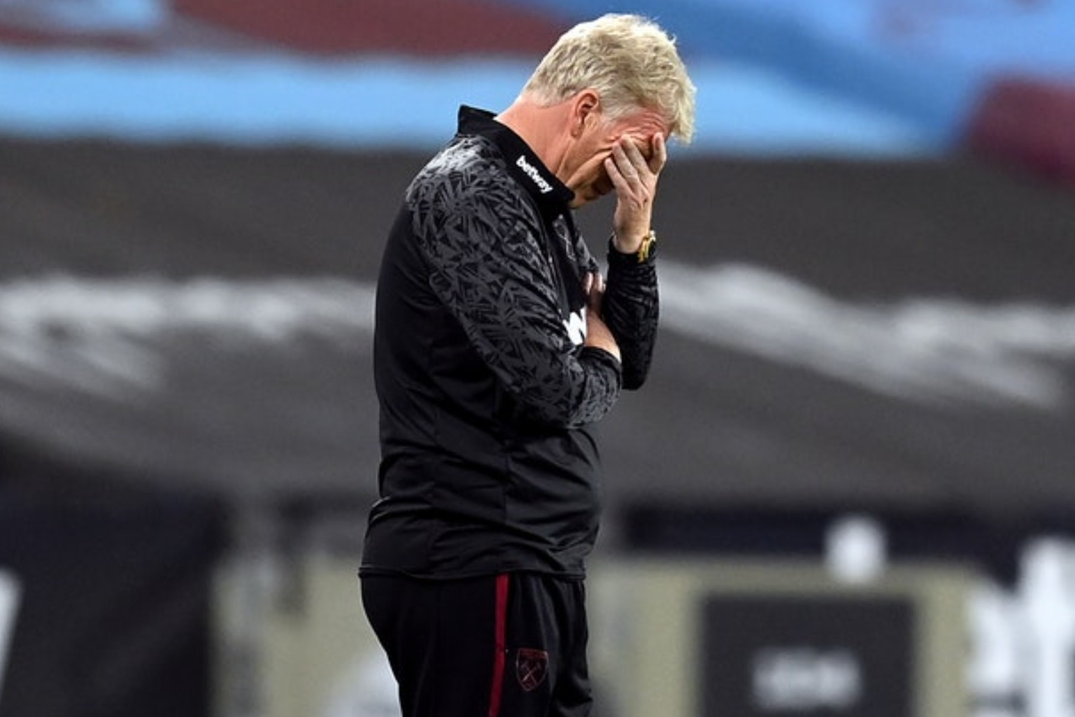 David Moyes discovered positive test an hour after arriving at London Stadium