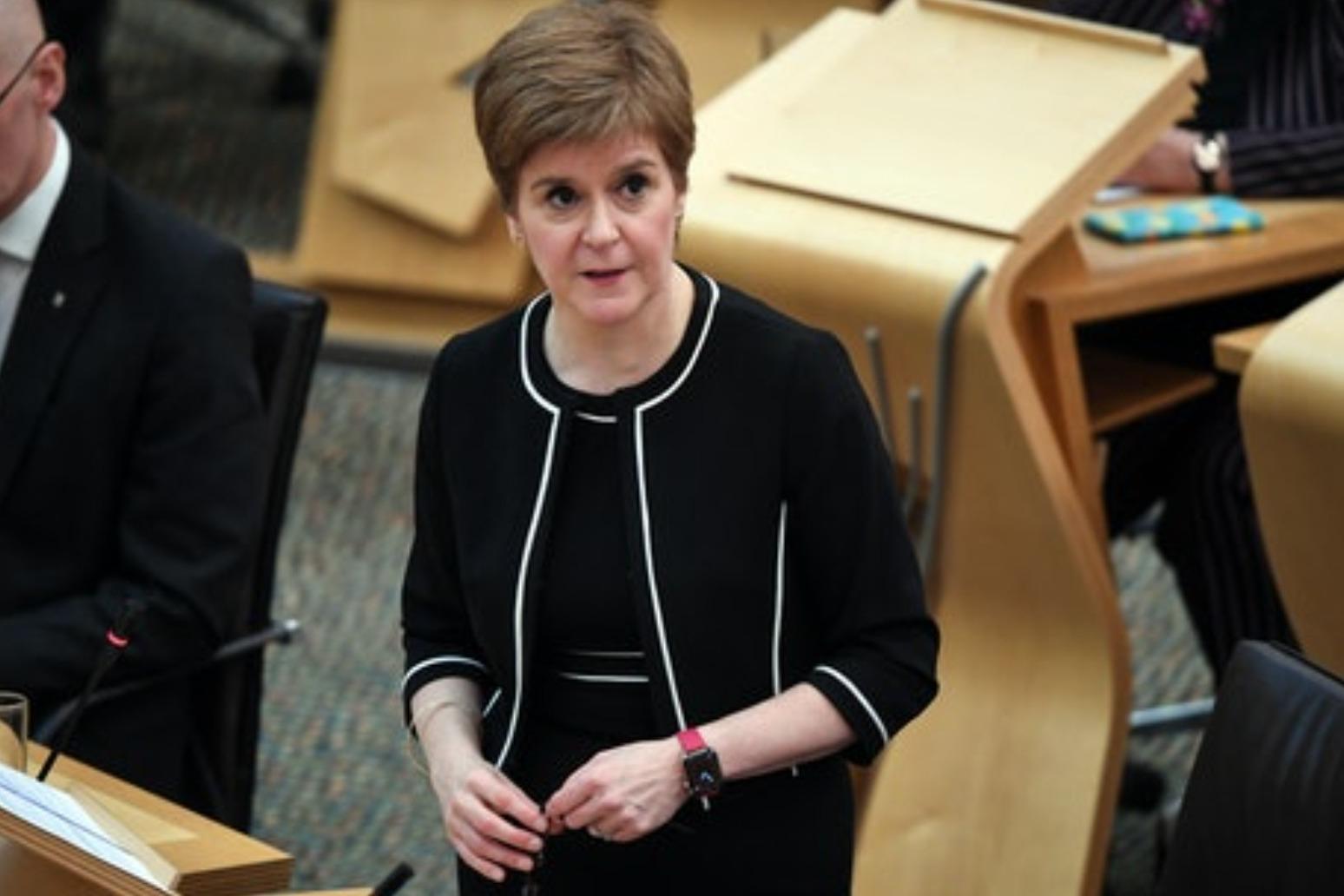 Nicola Sturgeon due to announce new coronavirus restrictions for Scotland