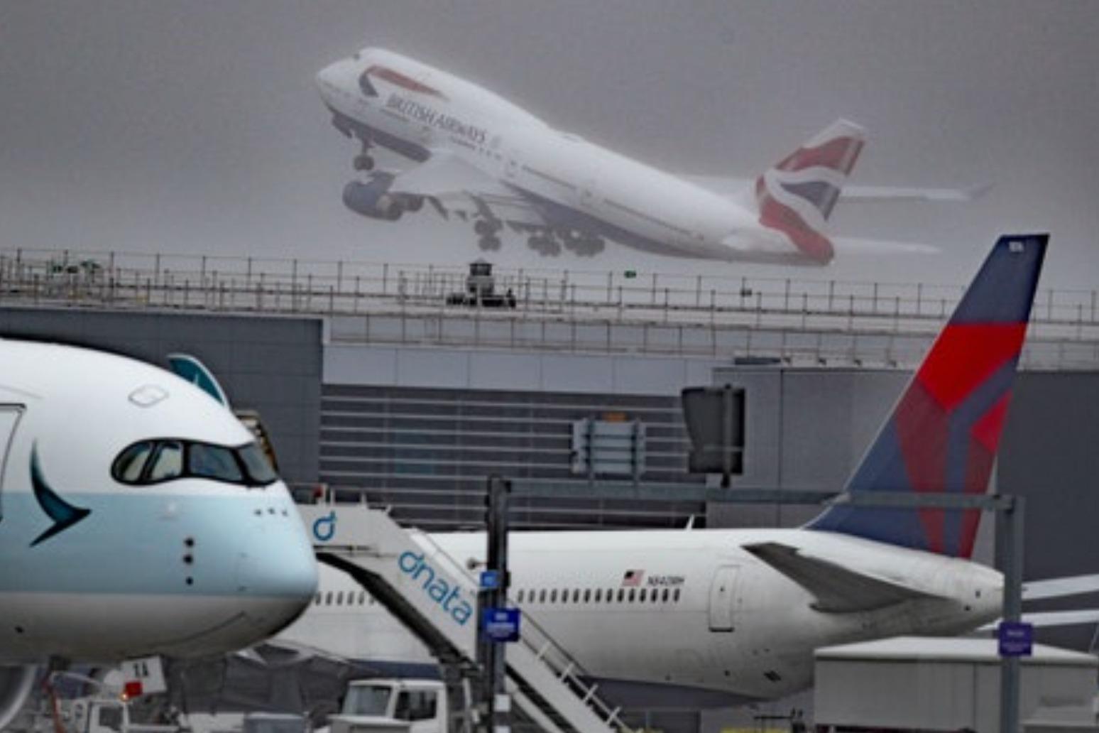 Boeing 747: BA's Queen Of the Skies depart from Heathrow in final flights