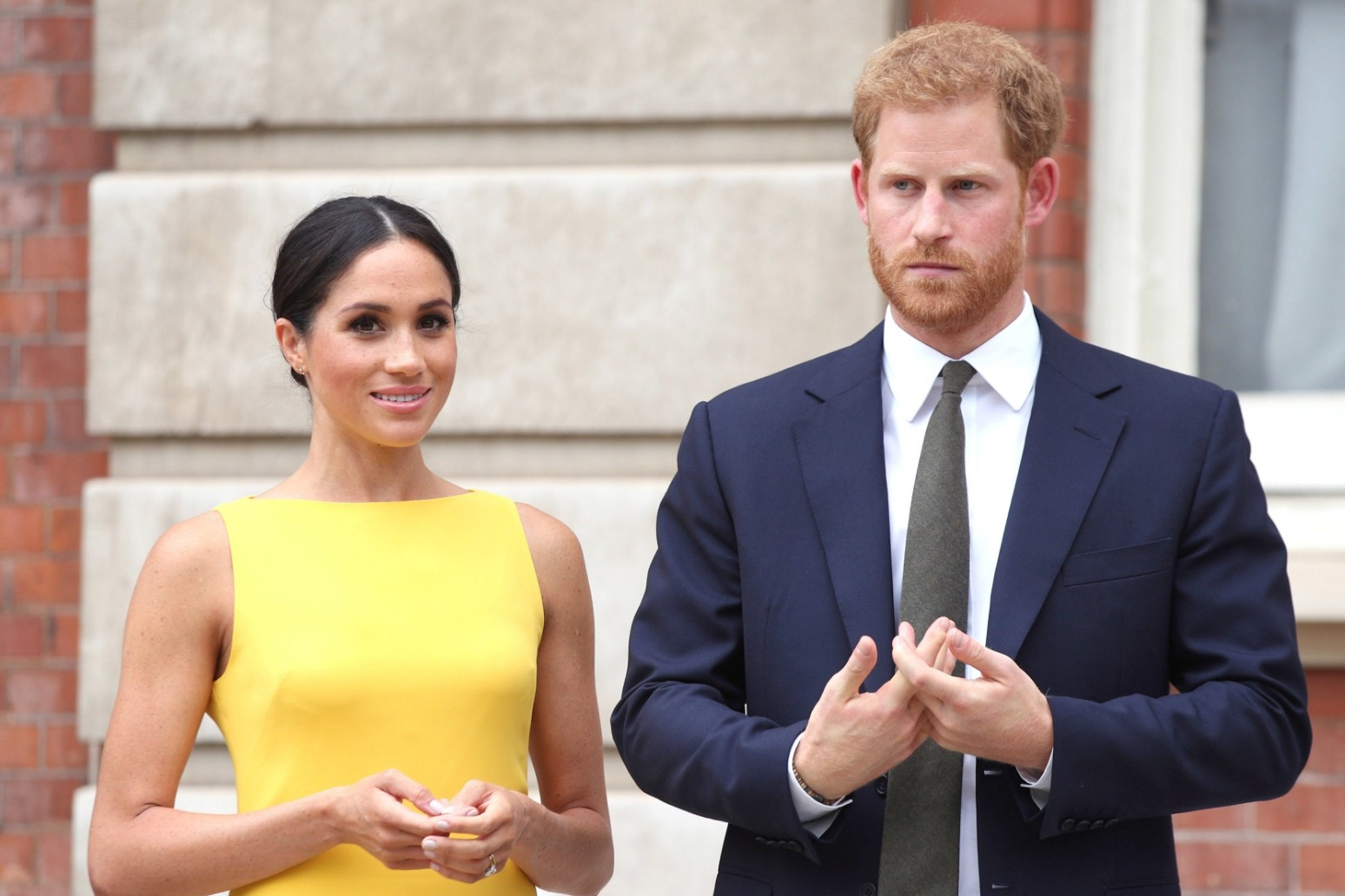 Harry speaks about family life with Meghan during chat with James Corden