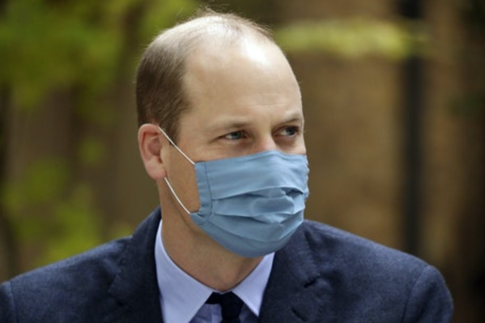 William tested positive for coronavirus in April