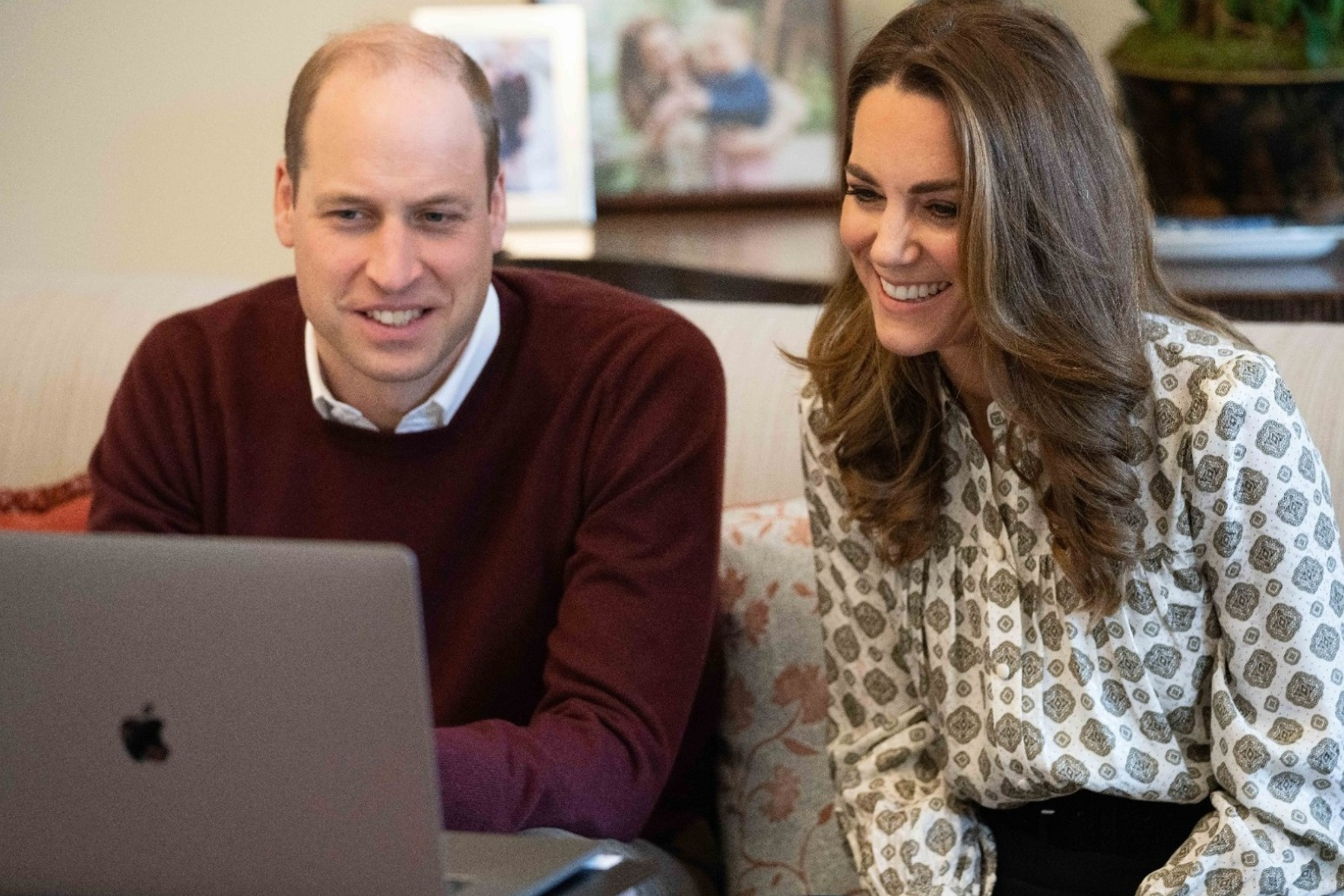 William and Kate hear of ups and downs of fatherhood from new fathers