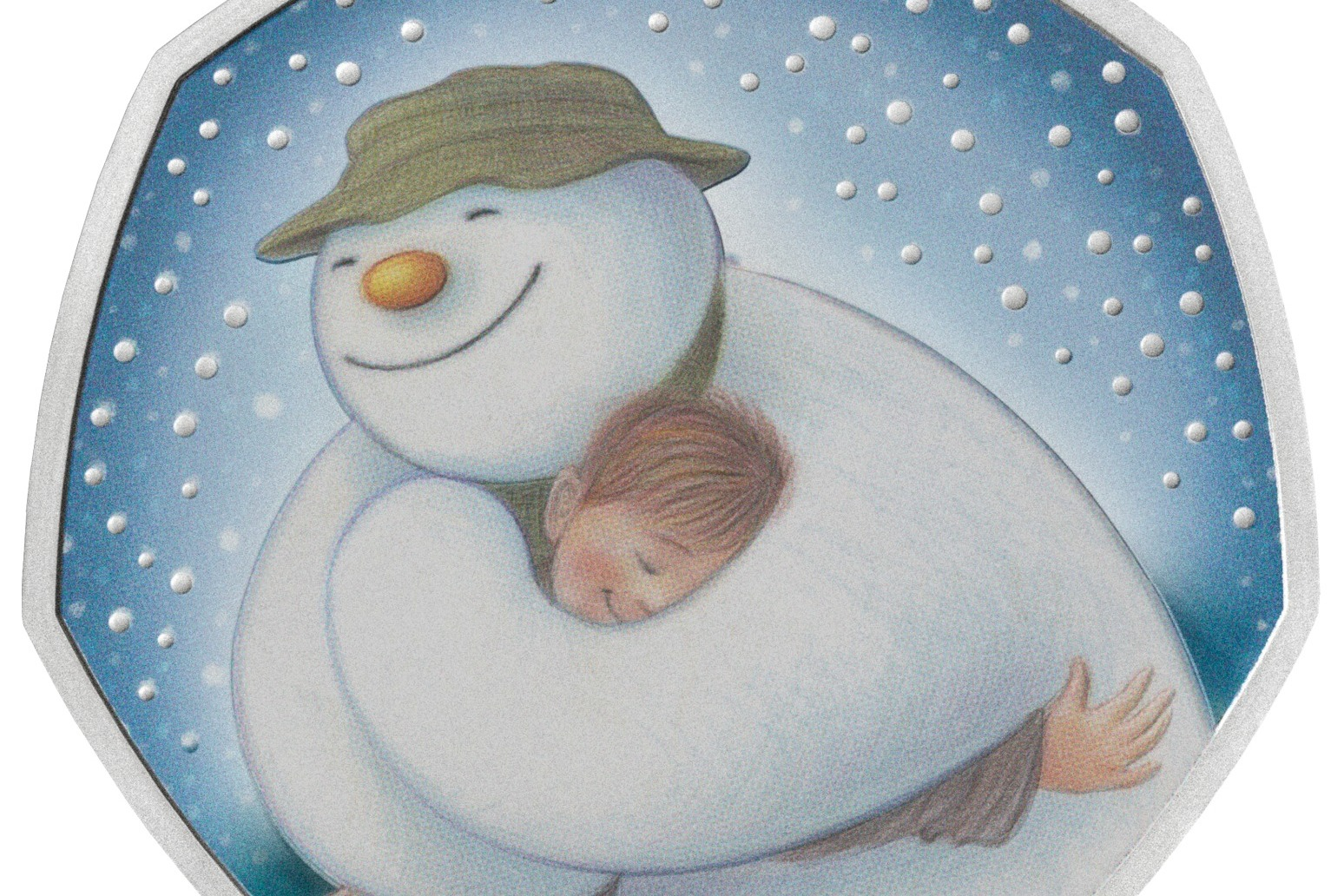 New commemorative 50p coin celebrates The Snowman