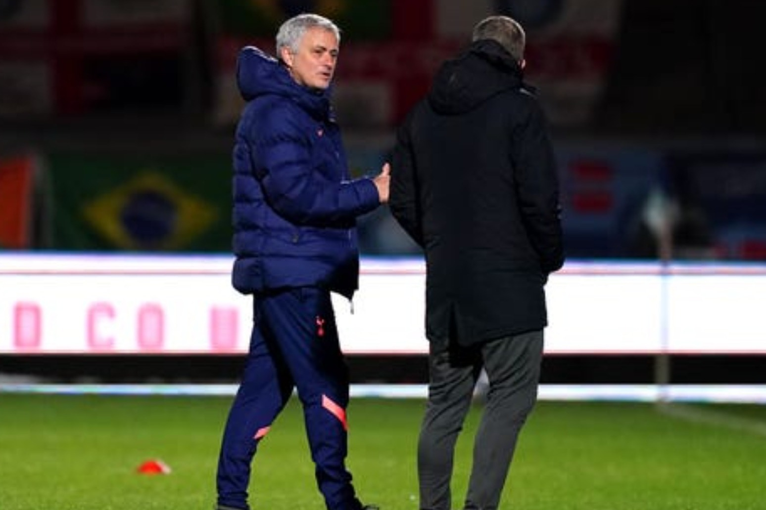 Jose Mourinho relieved after late show sees Tottenham past Wycombe in FA Cup