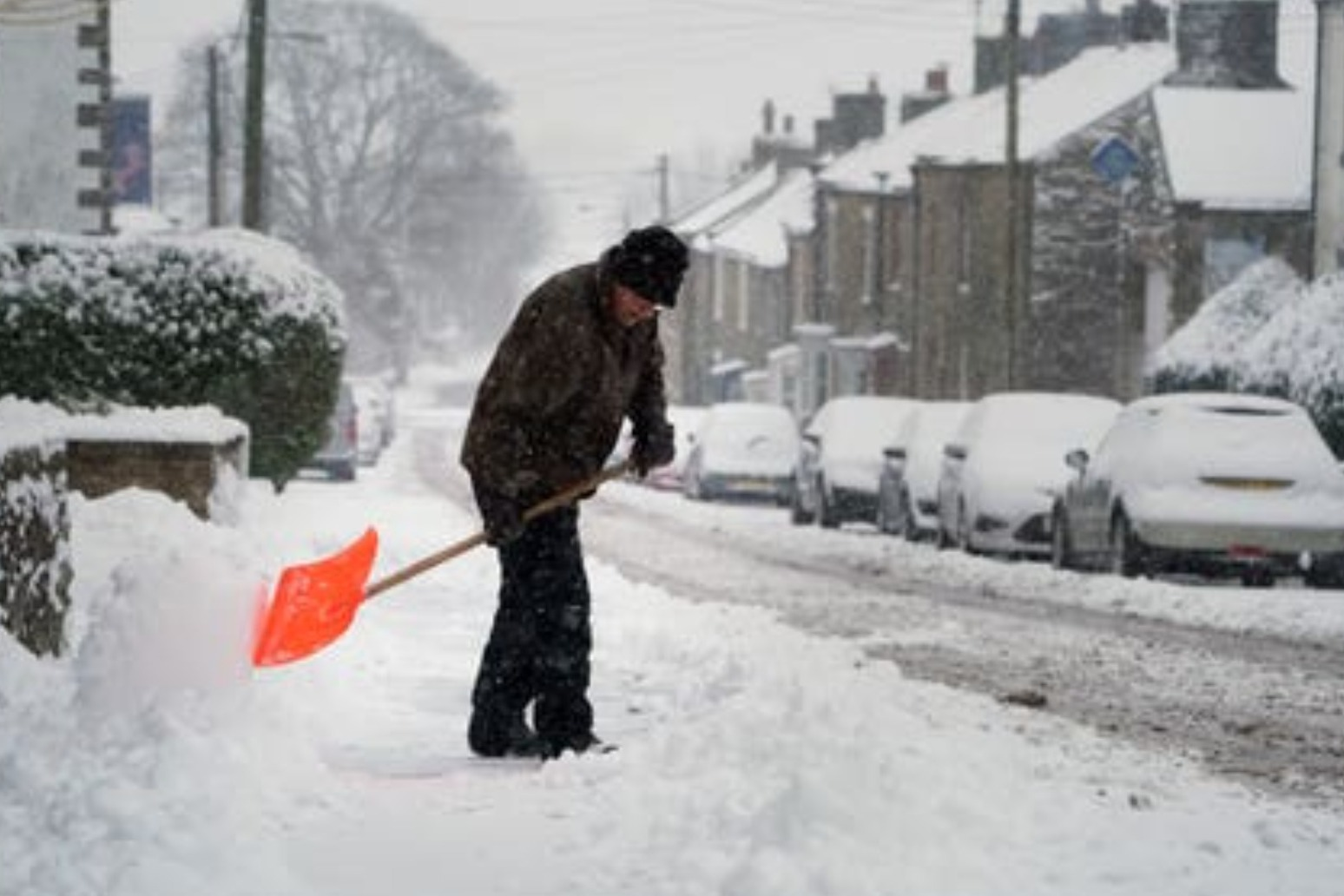 Coldest January in 10 years as wintry weather causes disruption