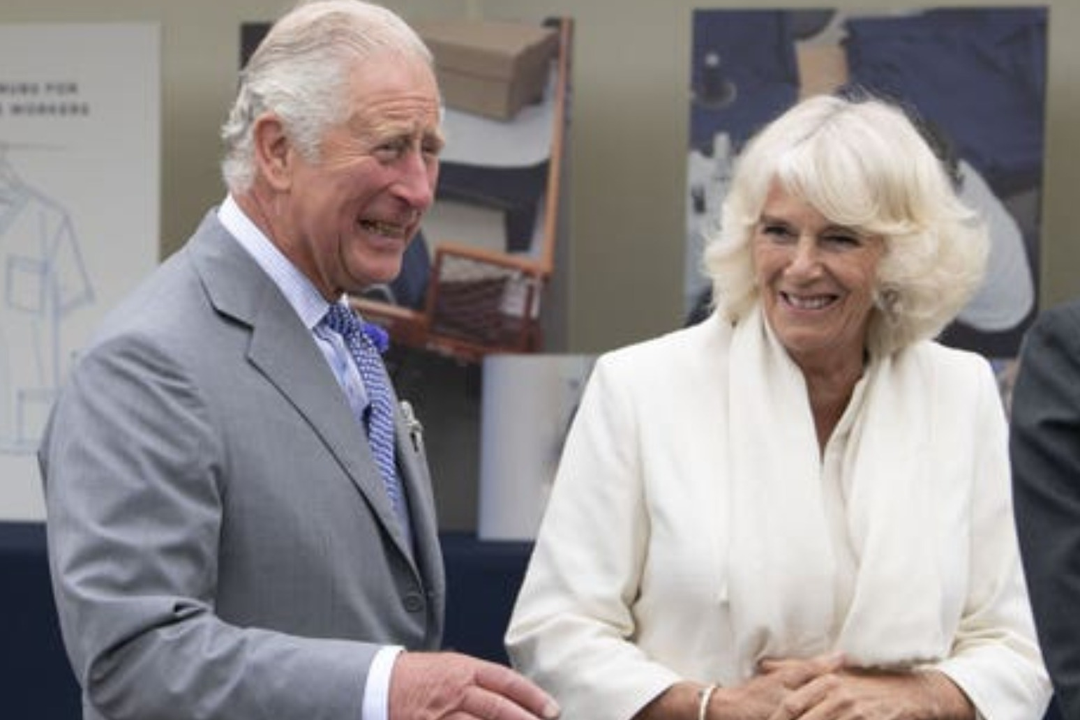 Charles and Camilla receive their Covid 19 jabs
