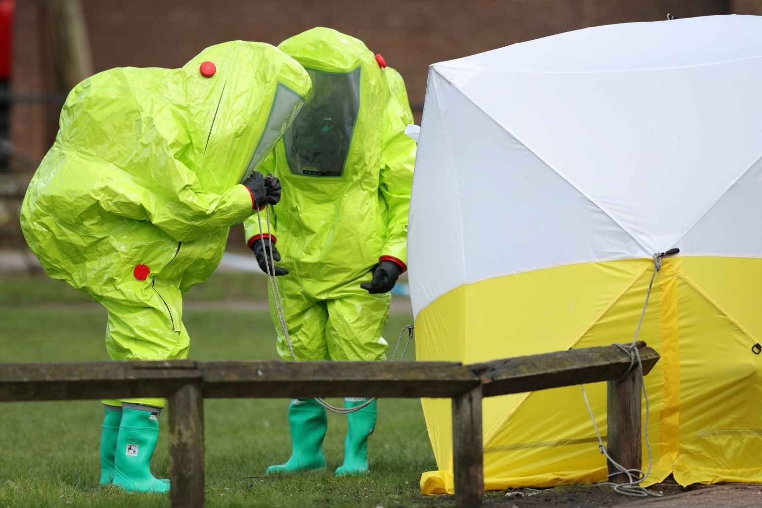 Defence Secretary: Threat of more chemical attacks in wake of Novichok poisoning