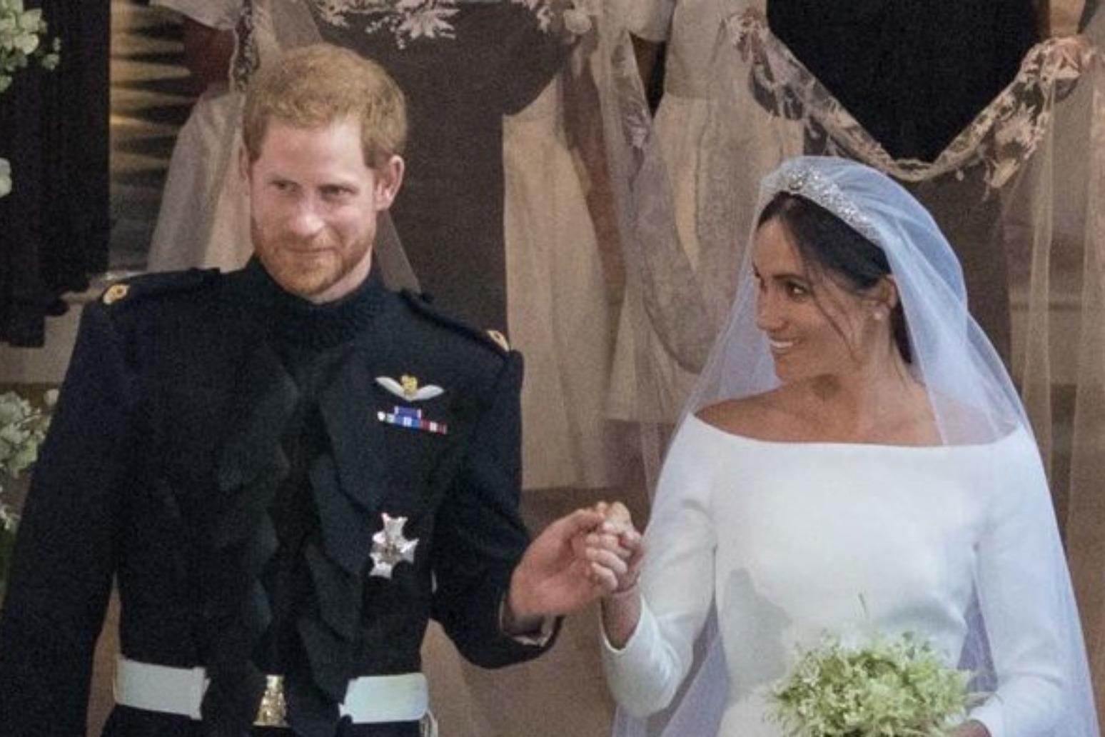 Prince Harry and Meghan celebrate third wedding anniversary