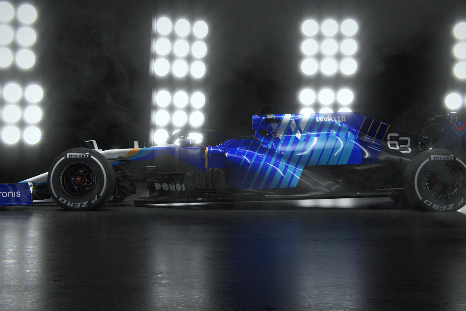 Williams Racing announces plan to be 'climate positive' by 2030