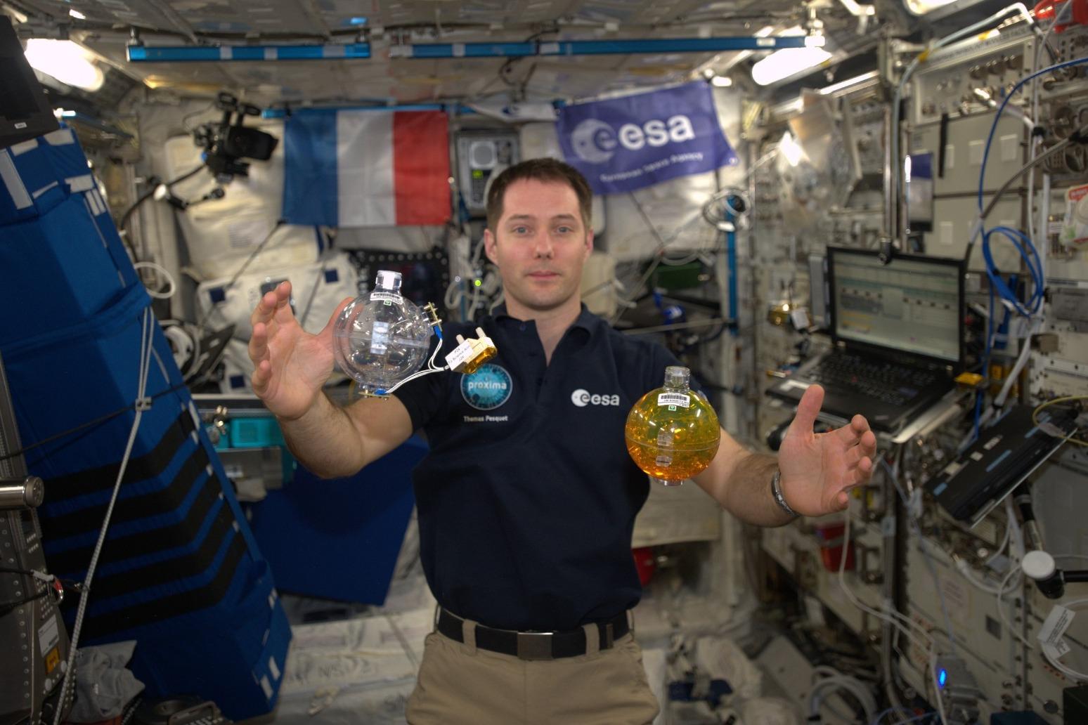 Thomas Pesquet becomes first European to blast off on SpaceXs Dragon capsule thumbnail