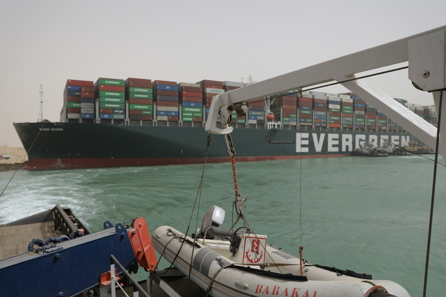 Investigation under way after cargo ship freed in Suez Canal