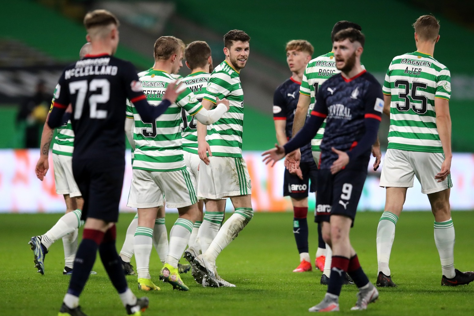 John Kennedy says Celtic cannot take success for granted after Falkirk win