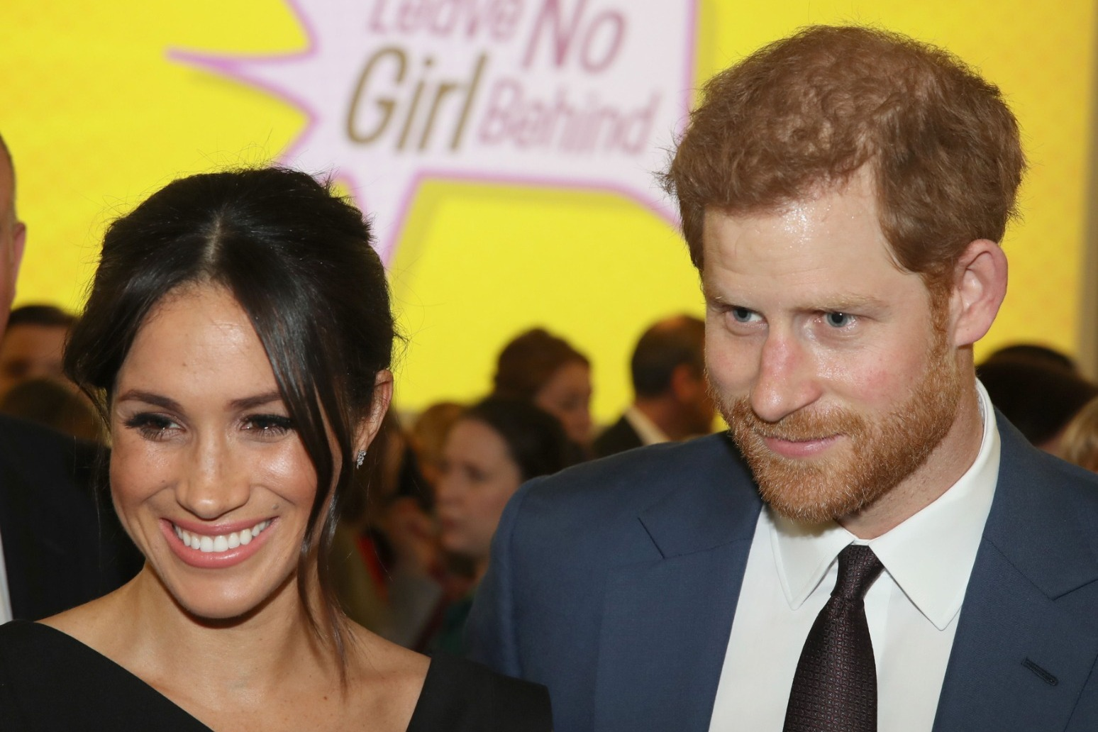 Harry and Meghan welcome baby daughter.