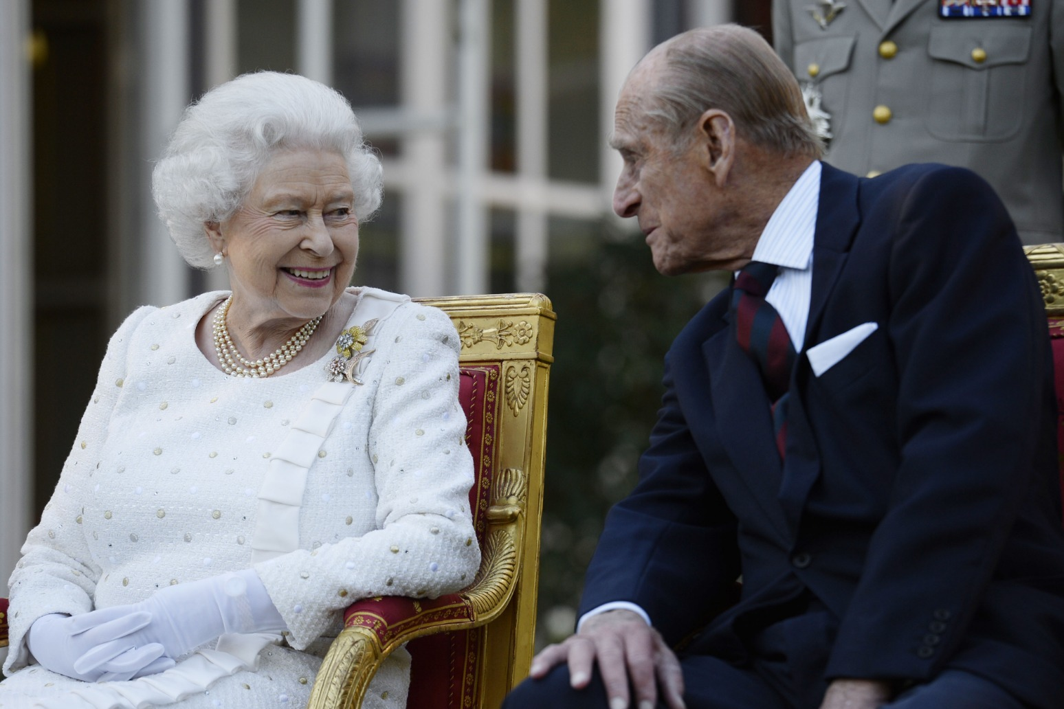 Queen losing her 'rock'