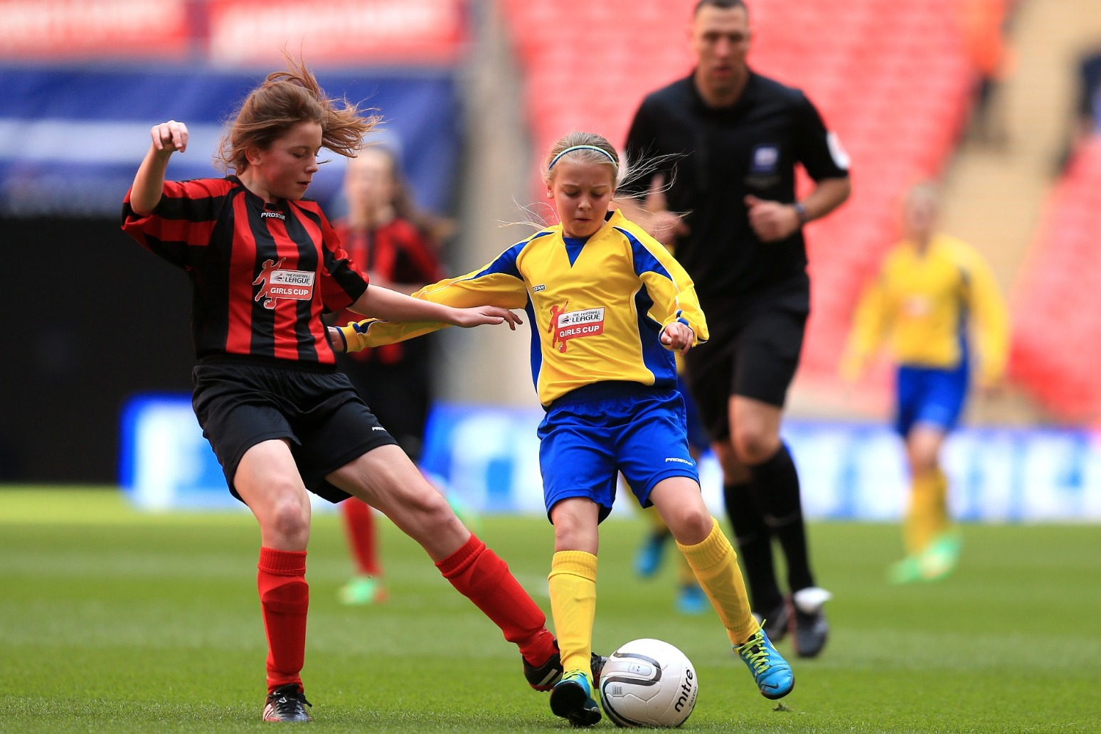 Teenage girls playing football face almost twice concussion risk of boys – study