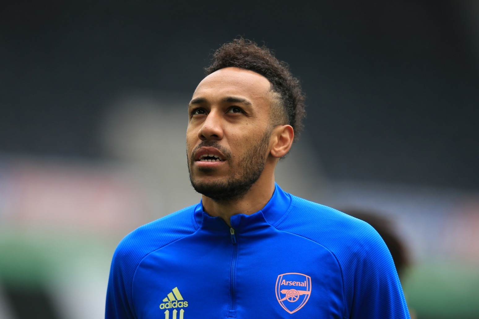 Arsenal striker Pierre-Emerick Aubameyang thanks medics for malaria recovery