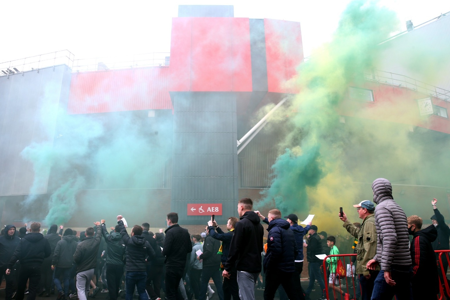 Old Trafford violence is completely unacceptable say police leaders thumbnail