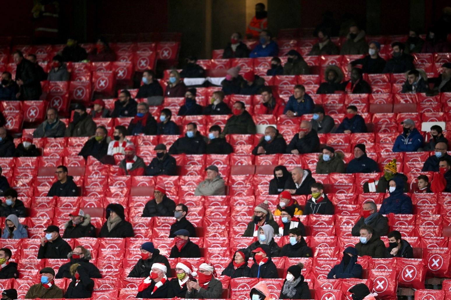 Only home fans will be allowed in the final two rounds of Premier League matches