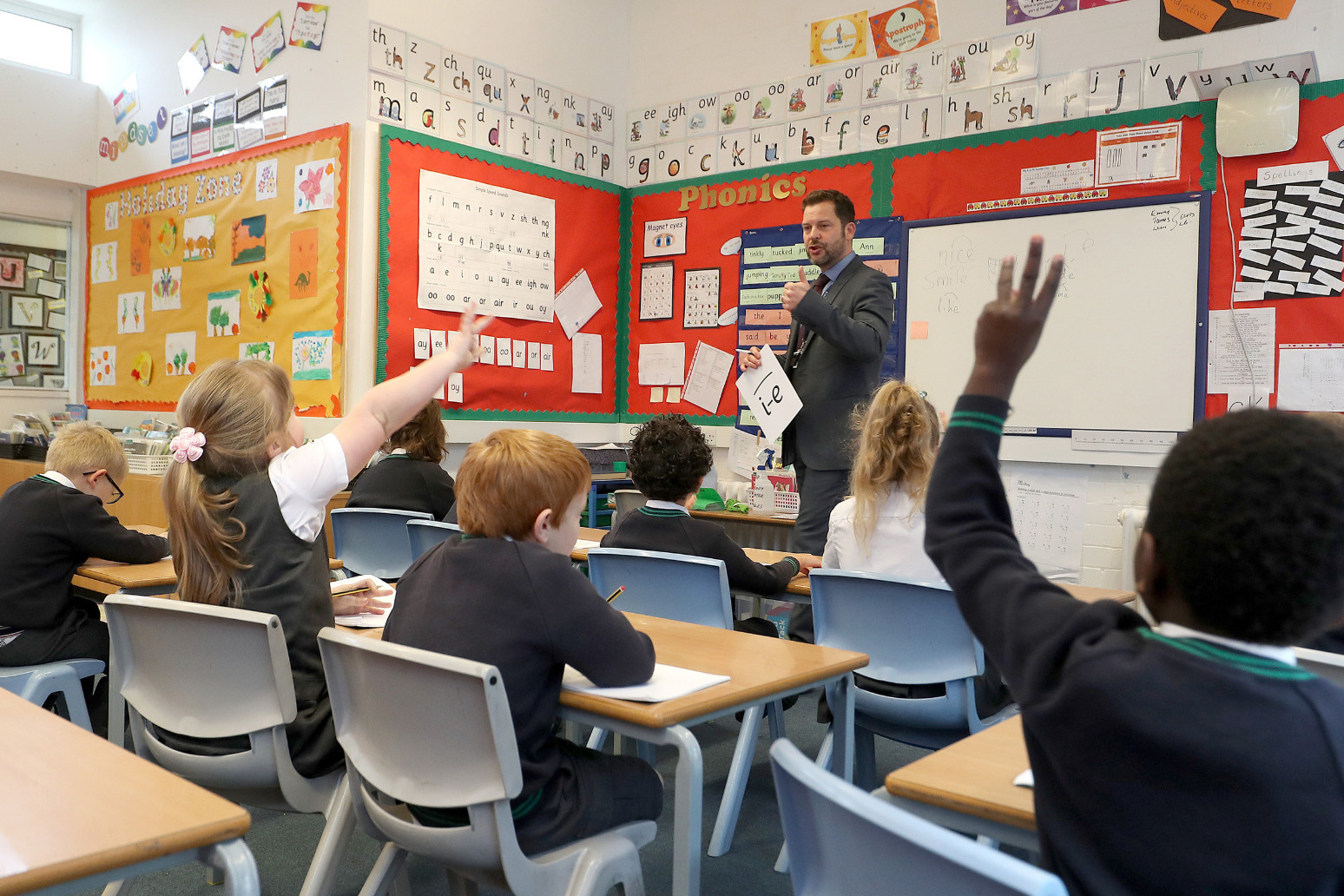 Nearly half of schools report lower pupil attendance than expected this term
