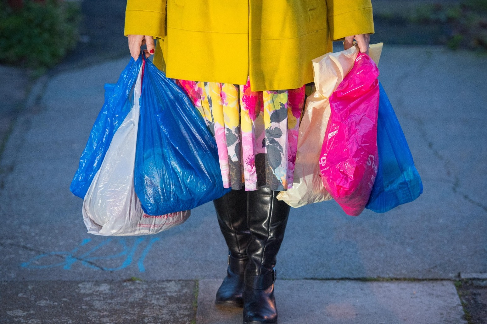 10p charge for single-use plastic bags comes into effect in England