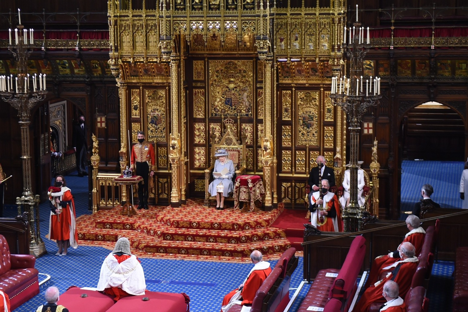 Queen's Speech sets out plans for 'stronger, healthier, more prosperous' nation