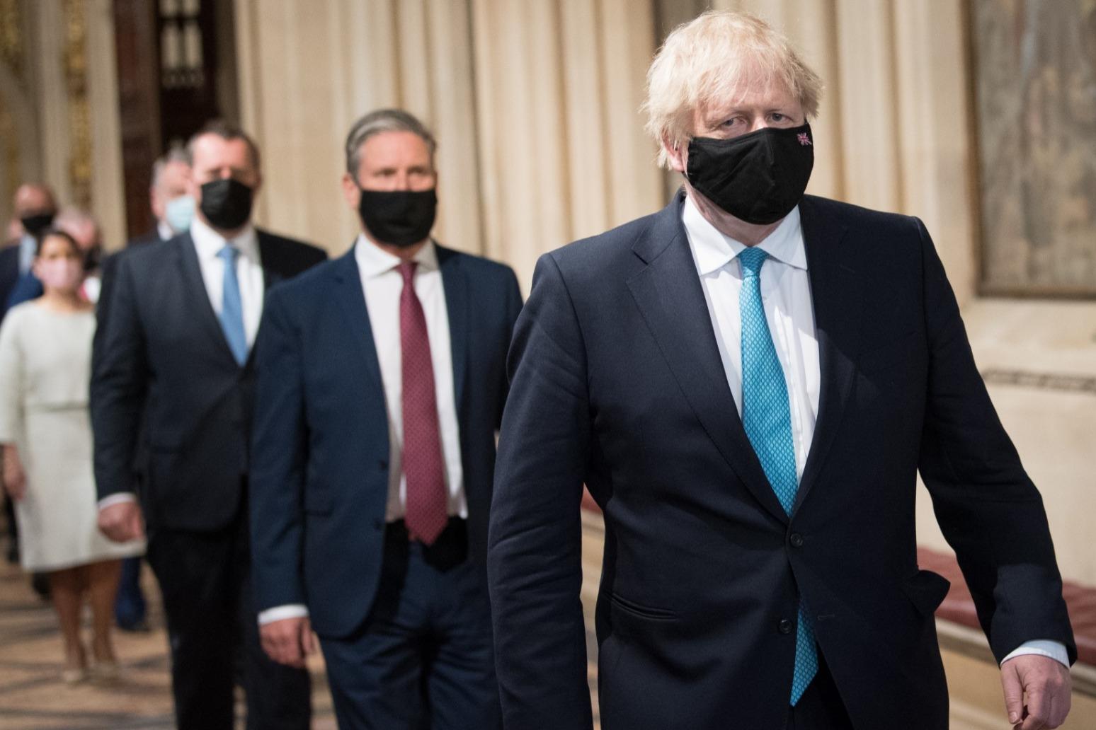 Boris Johnson and Keir Starmer praise global resolve on 20th anniversary of 9/11