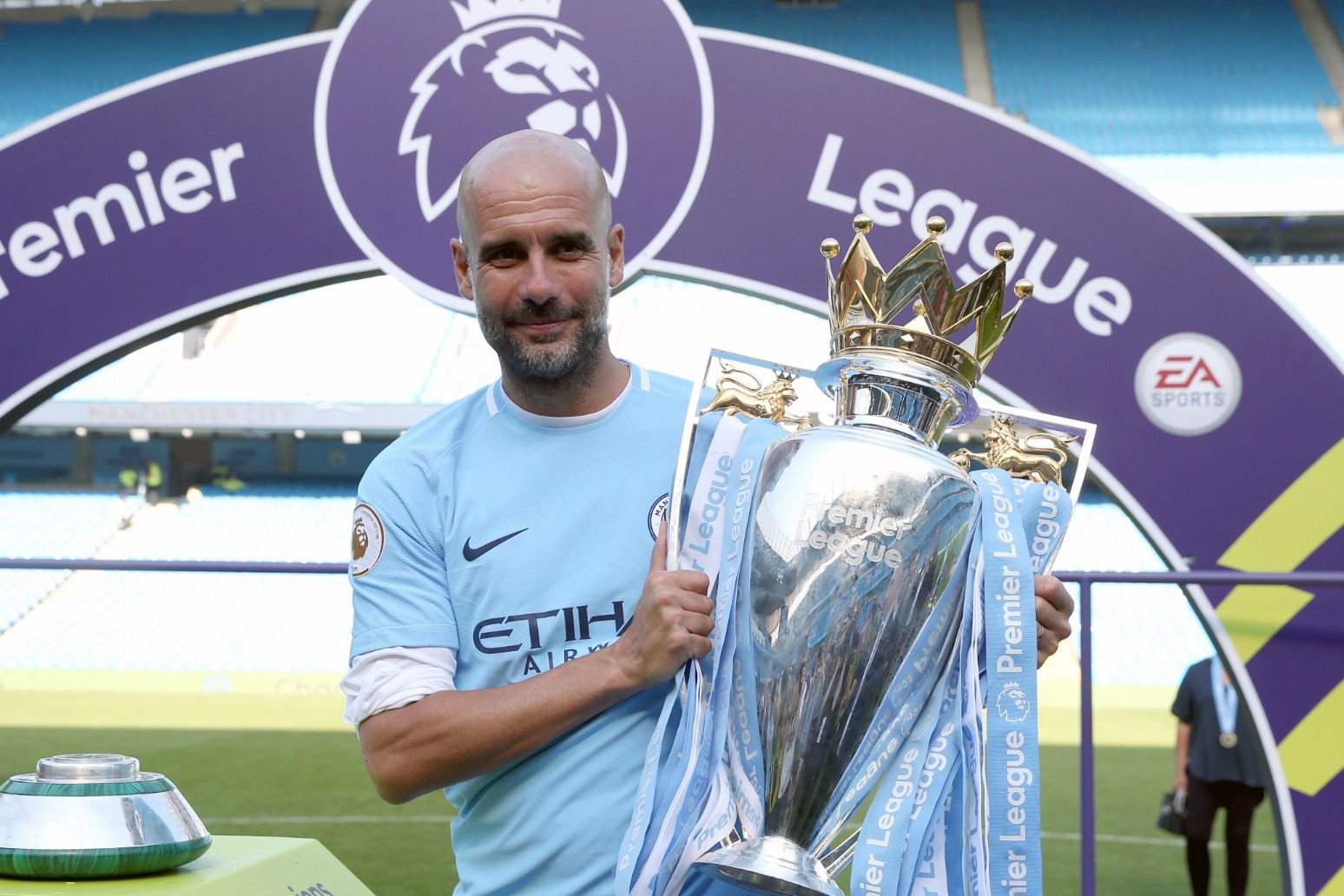 Pep Guardiola hails 'special' Manchester City side after 'hardest' title win
