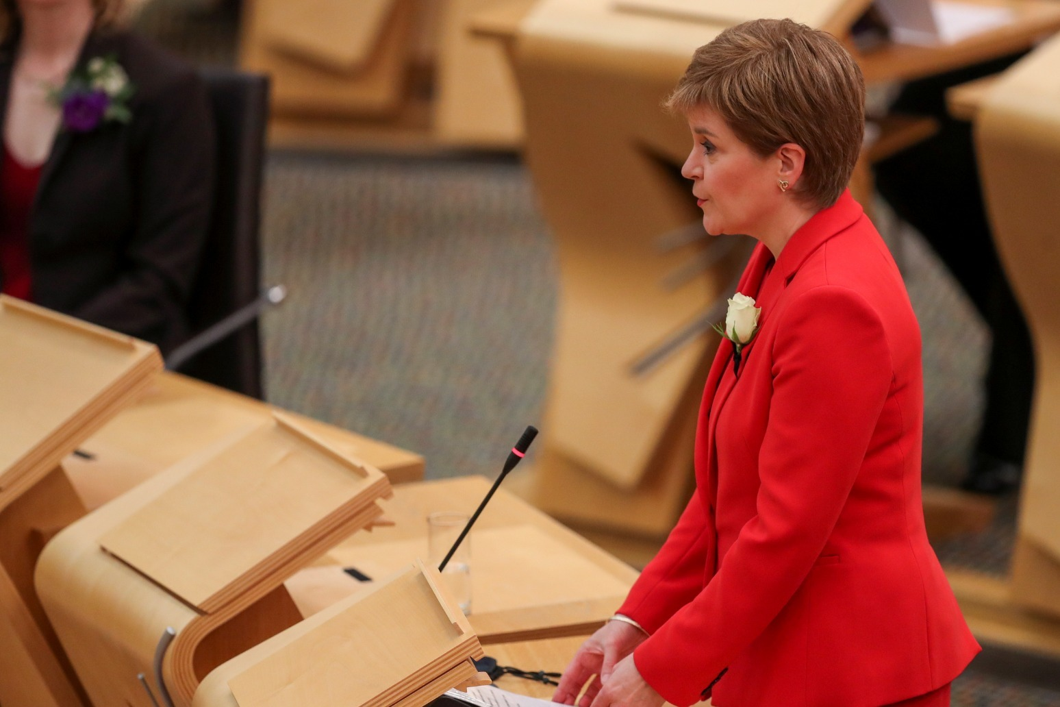 Nicola Sturgeon expected to be re-elected as Scotland\'s First Minister