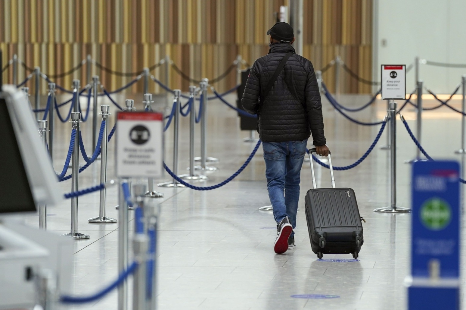 UK travellers made nearly 75% fewer trips abroad in 2020