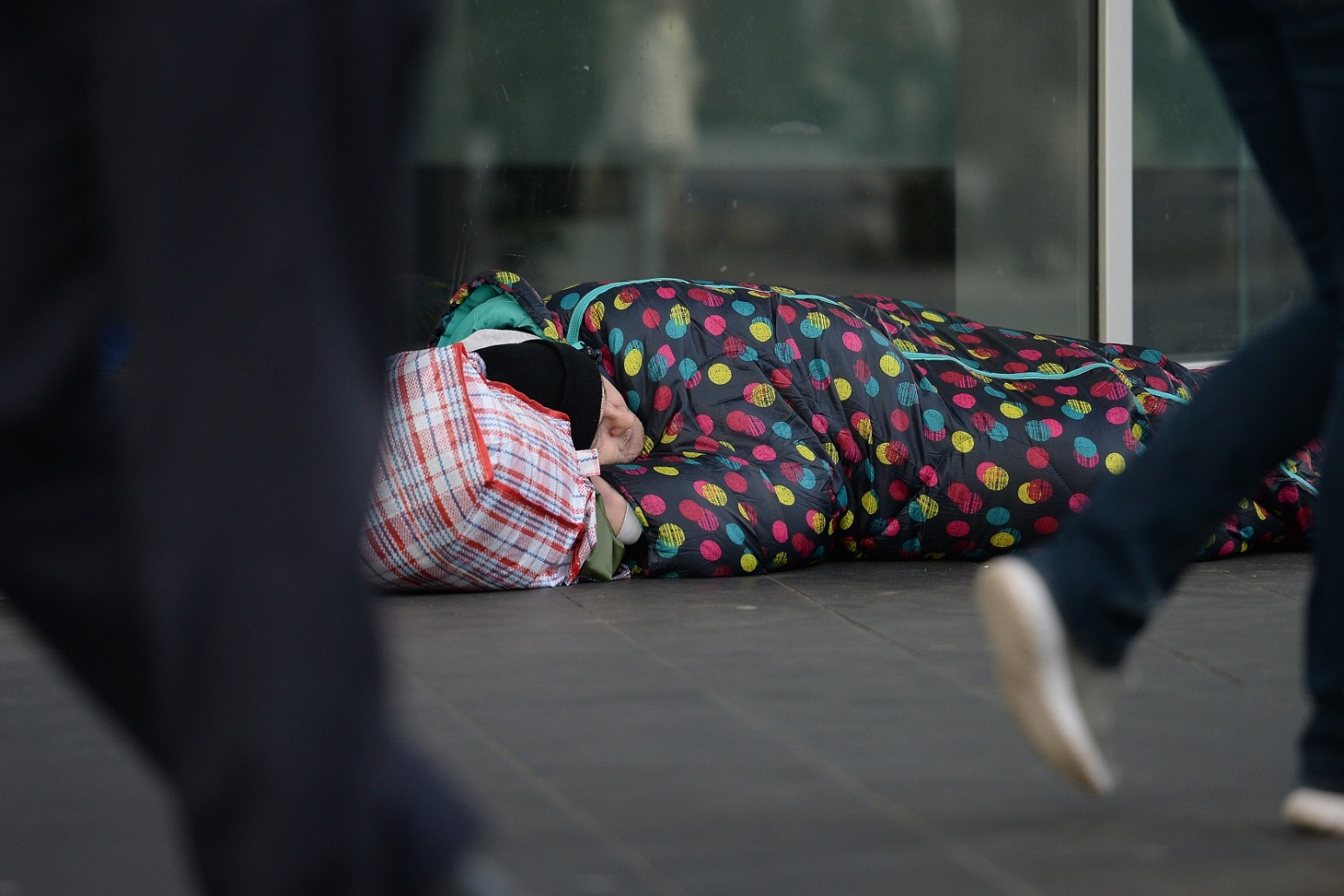 17% rise in number of households in temporary accommodation