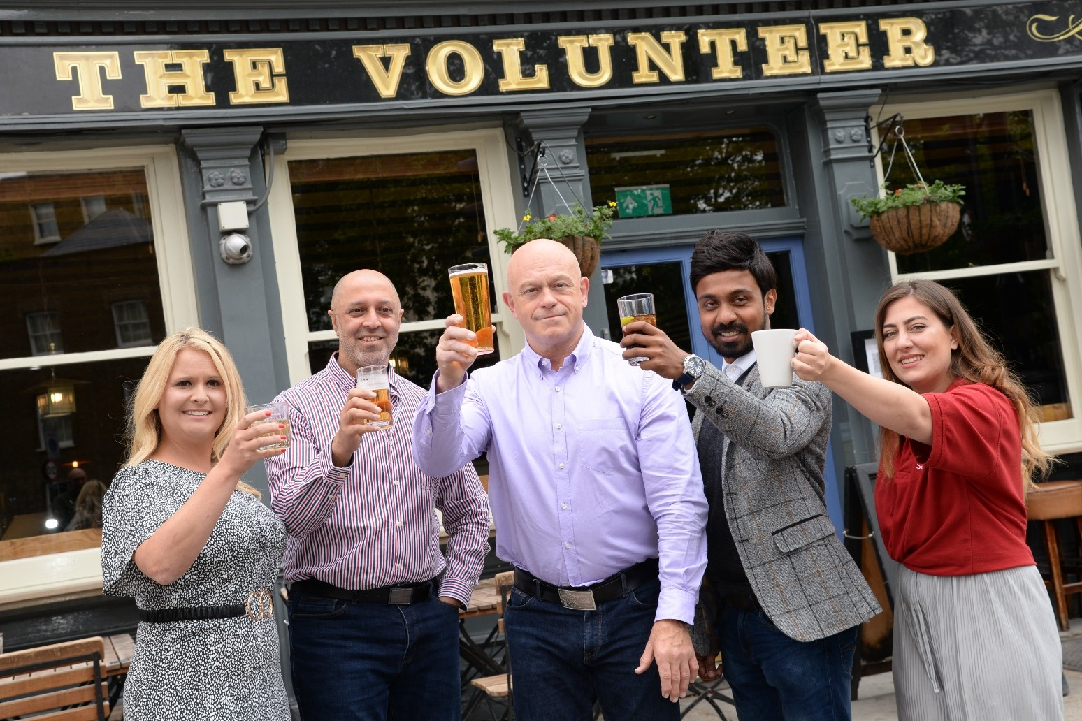 Ross Kemp launches campaign to thank volunteers for helping during the pandemic