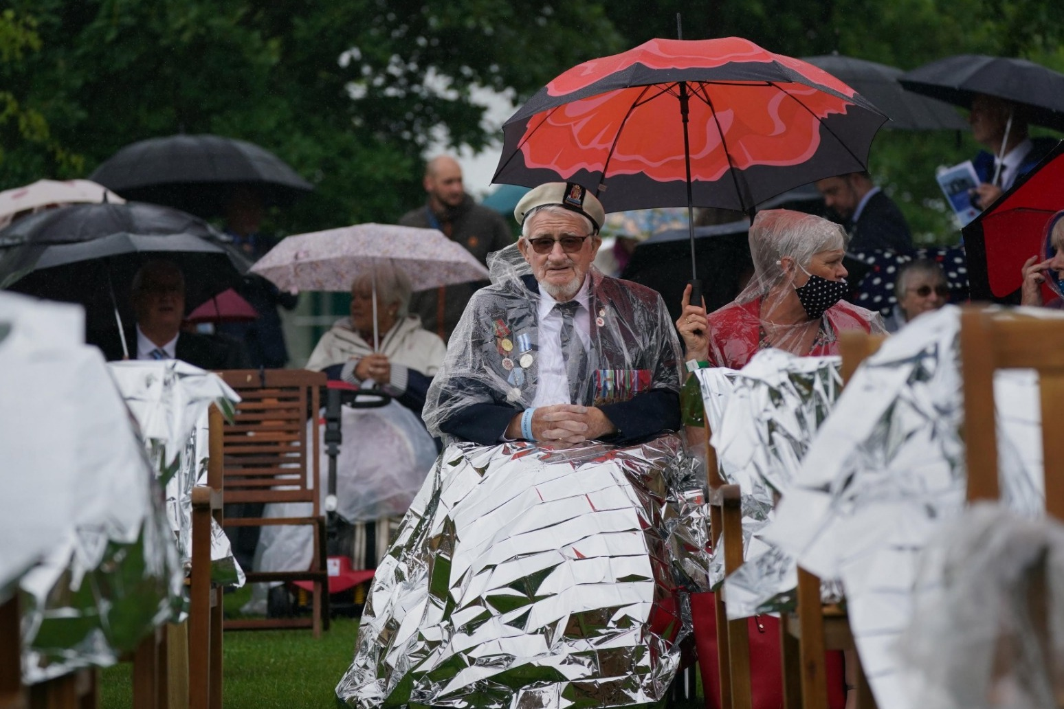 Normandy veterans gather to mark 77th D-Day anniversary and memorial opening