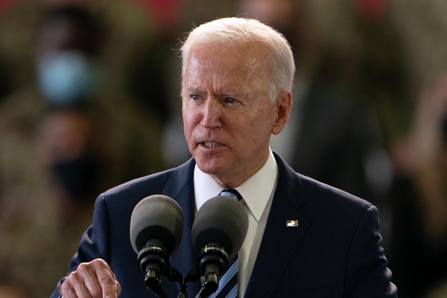 Joe Biden given warm welcome in UK on first overseas trip as US President